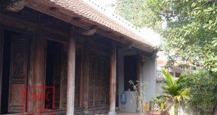 Lắp dựng nhà gỗ lim cổ