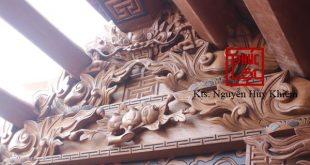 Nhà gỗ Lim Lào tại Ninh Hiệp gia Lâm, Hà Nội
