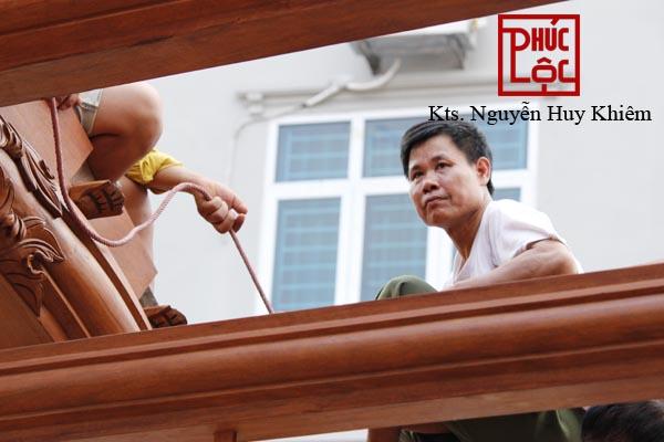 Thợ mộc Chàng Sơn - xưởng nhà gỗ Phúc Lộc