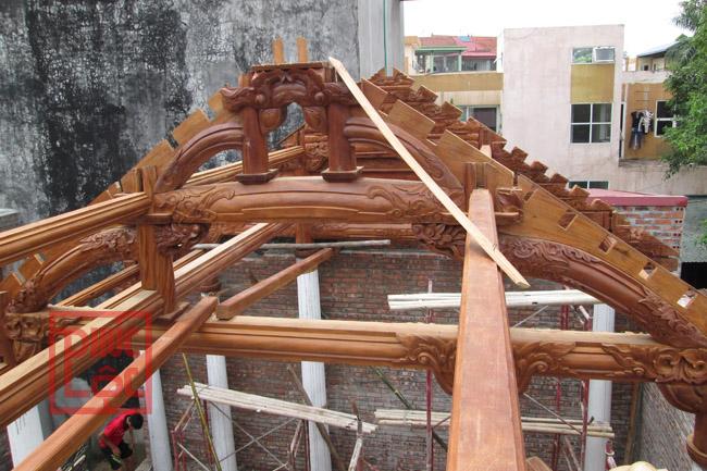 Nhà gỗ Lim 3 gian đẹp