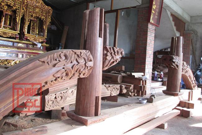 Kẻ ngối nhà gỗ Lim
