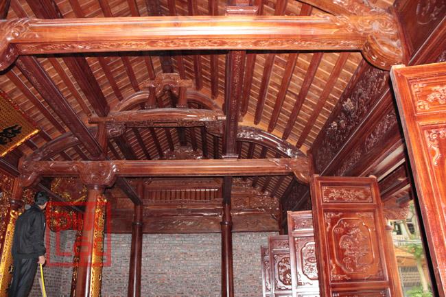 Nhà gỗ lim 3 gian