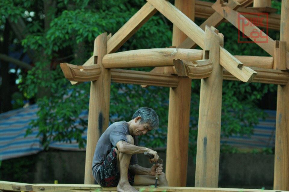Dựng nhà gỗ Lim Nam Phi