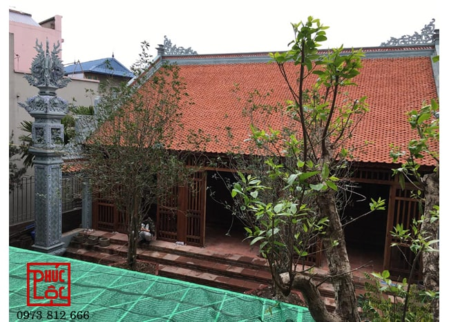Nhà gỗ 3 gian Lim lào tại Ninh Hiệp, Hà Nội
