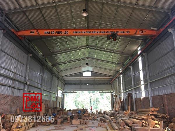 Xưởng nhà gỗ Phúc Lộc số 2