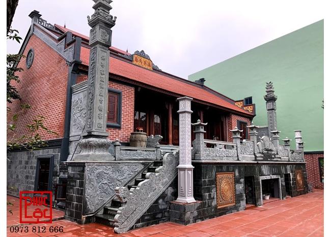 Nhà gỗ Lim 5 gian buồng gói