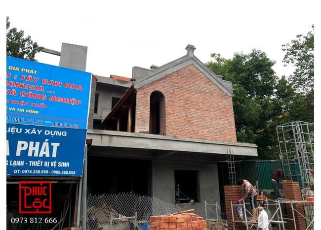 Nhà gỗ Mít 3 gian trong phố tại Long Biên, Hà Nội