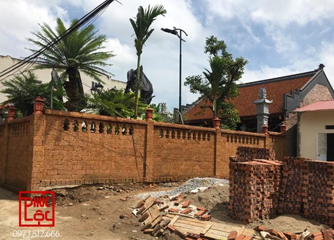 Công trình nhà thờ gỗ Lim 3 gian sân vườn - Nhà gỗ Phúc Lộc