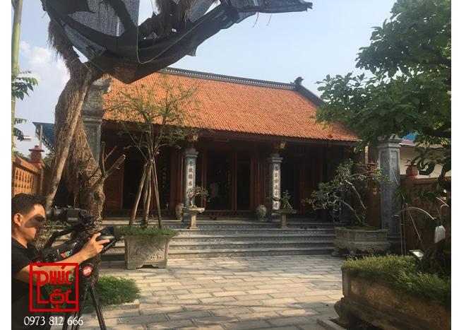 Nhà thờ gỗ Lim 3 gian