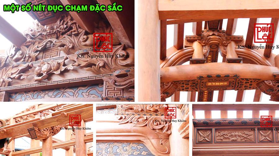 Một số nét hoa văn đặc sắc trong nhà gỗ cổ truyền