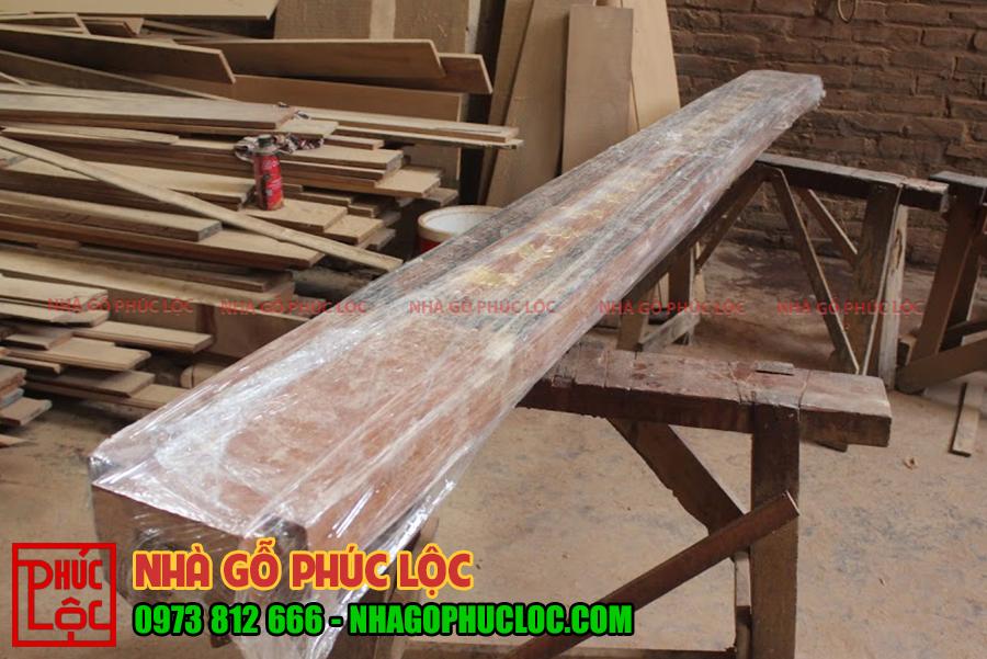 Các cấu kiện sẽ được bọc kín để tránh xước sơn và bụi bẩn