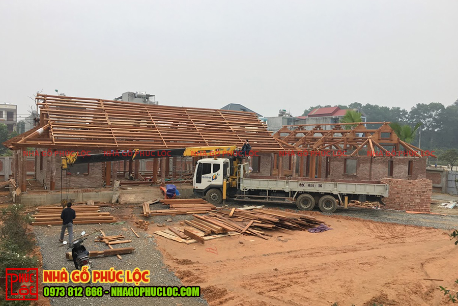 Kết cấu mái của ngôi nhà gỗ cổ truyền Bắc Bộ